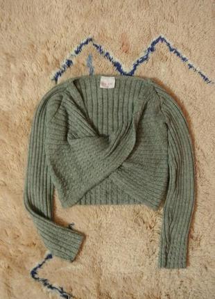 1+1=3 короткий свитер s/m