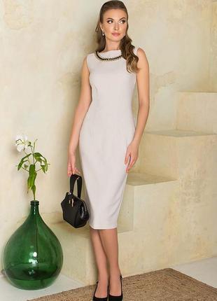 Классическое элегантное платье-футляр