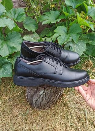 Крутые туфли туфлі полуботинки clarks ecco 45 46