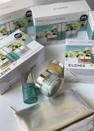 Elemis pro collagen anti aging trio starter kit - набор для ухода за кожей лица