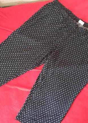 Легкие свободные укороченные брюки jessica (c&a) экстра мега-батал наш 66/68 💣