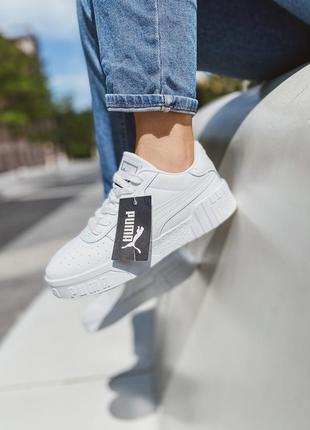 Кроссовки «puma cali white»