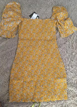 Платье цветочек тренд лета