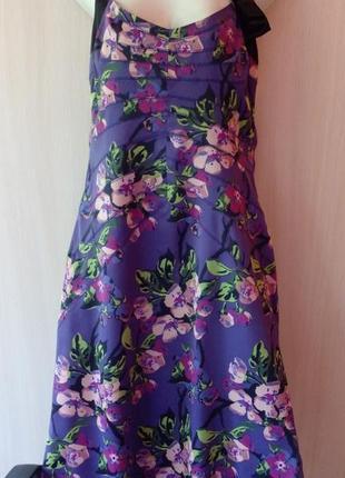 Платье сарафан karen millen размер 48 сложное, яркое, очень стильное