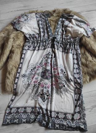 Платье пляжное 16-18р