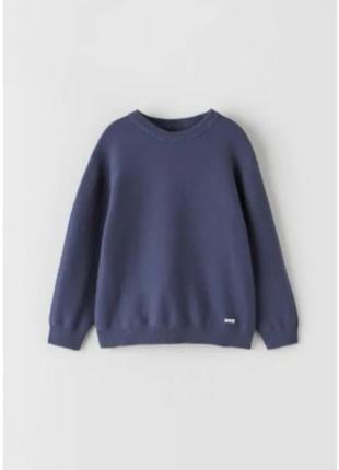 Базовый свитер для мальчика zara2 фото