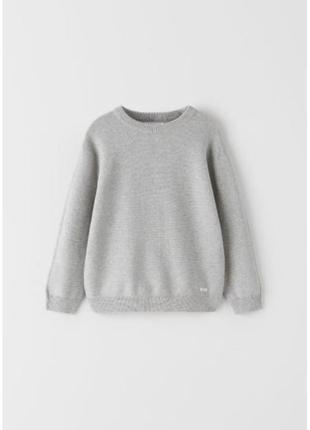 Базовый свитер для мальчика zara5 фото