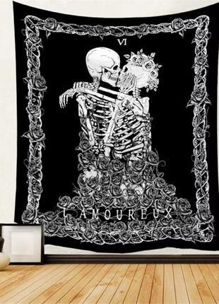 Картина-гобелен текстильный вечная любовь