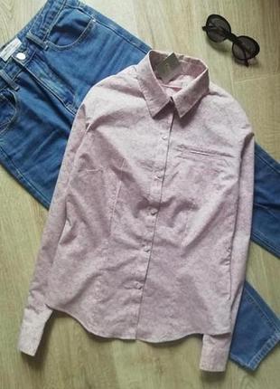 Красивая рубашка в цветочный принт, базовая рубашка, сорочка, блузка, рубашка в деловом стиле, офисная рубашка