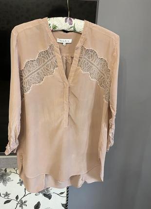 Шовкова блуза sandro