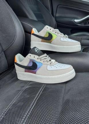 Nike air force 1 low кроссовки цвнтные