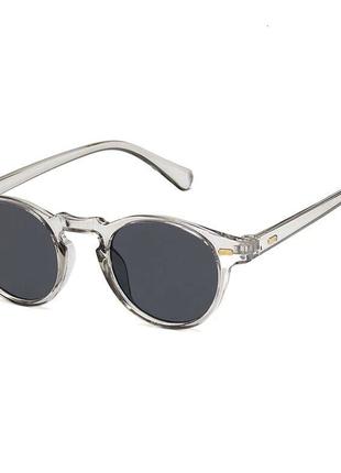 Новые круглые очки в серой оправе primark