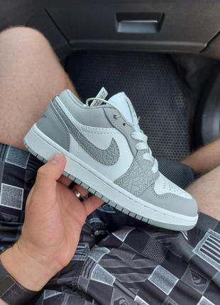 Nike air jordan 1 low8 фото