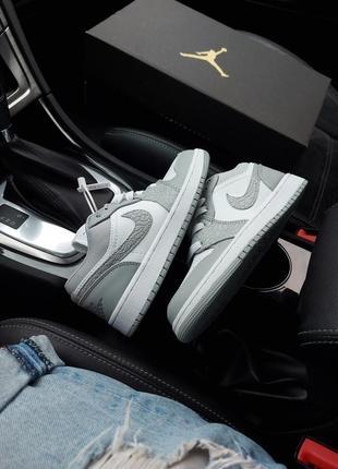 Nike air jordan 1 low7 фото
