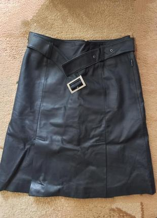 Кожаная юбка tom tailor
