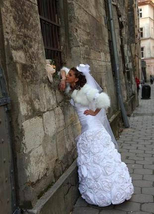 Плаття весільне 36 розмір