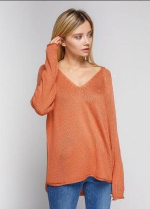 Джемпер пуловер из акрила