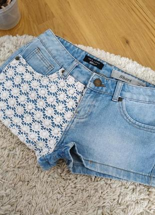 Шорти джинсові / шорты джинсовые
