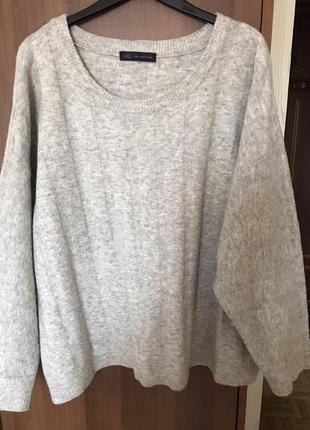 Шикарный серый свитер