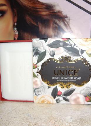 Натуральное мыло с жемчужной пудрой  от akten kozmetik, 100 гр