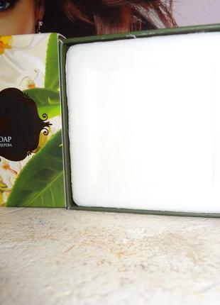 Натуральное мыло с маслом чайного дерева от akten kozmetik, 100 гр