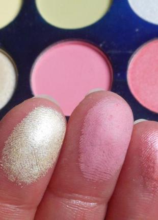🌺🌿палетка пастельныхг теней для век beauty glazed blooming up (35 color)10 фото