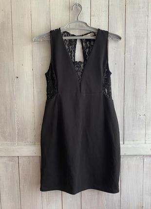 Чёрное платье new look