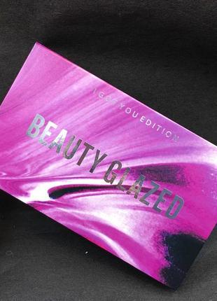 💞🌹палетка теней для век beauty glazed textured shadows palette reose gold edition (18 color)5 фото