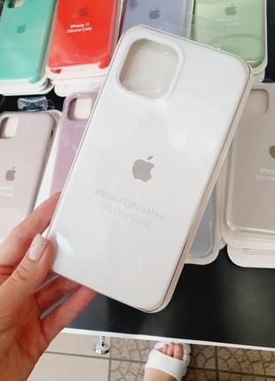 Чехол silicone case full для айфон iphone  12 pro max