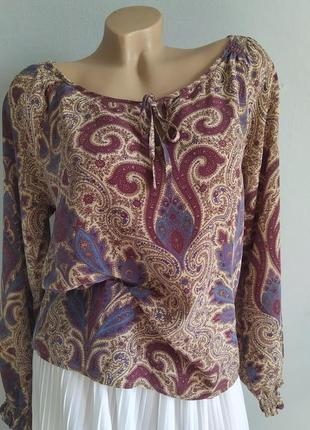 Блуза, туника из 100% натурального шелка