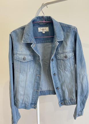 Джинсовая куртка, джинсовка next