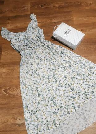 Нежное платье.вискоза