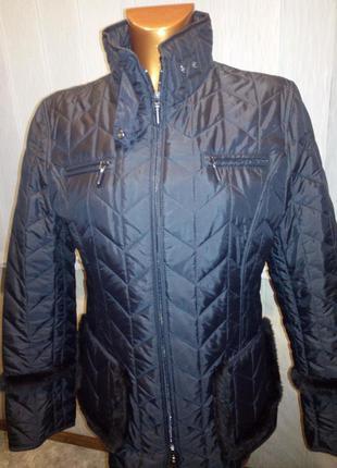 Стильная утепленная куртка joy