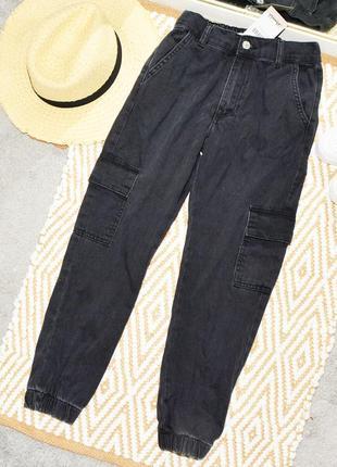 Новые карго джинсы denim co