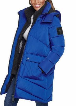 Calvin klein пуховик куртка парка s-m