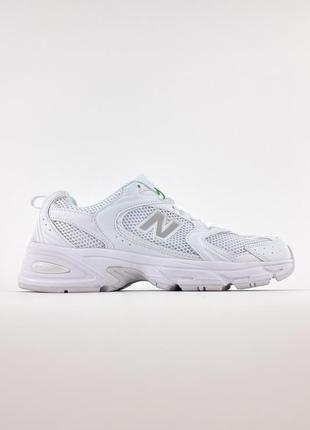 Кроссовки нью беленс женские белые 530 new balance 530 white обувь