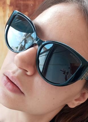 Стильные очки антиблик поляризация polarized swarovski очки кошки очки лисички8 фото