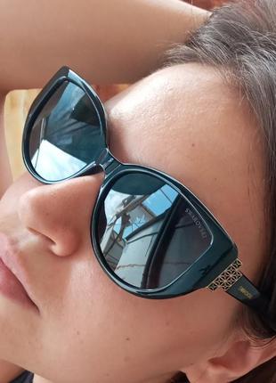 Стильные очки антиблик поляризация polarized swarovski очки кошки очки лисички4 фото