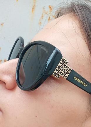 Стильные очки антиблик поляризация polarized swarovski очки кошки очки лисички