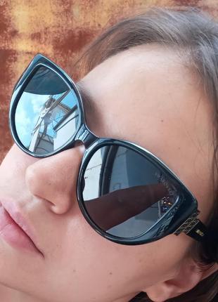 Стильные очки антиблик поляризация polarized swarovski очки кошки очки лисички5 фото