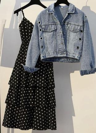 Комплект плаття з піджаком