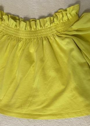 Блуза/топ с открытыми плечами