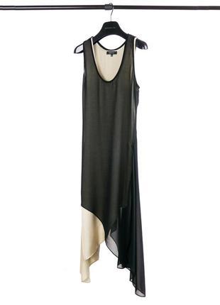 Шёлковое коктейльное платье barbara bui (xs-s) paris