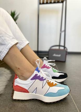 New balance 327 pride спортивные кроссовки
