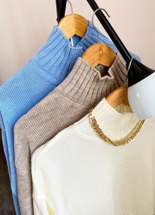 Акція ❤️ свитер теплый с горлом❤️7 фото