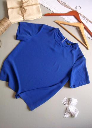 Блуза ультрамарин