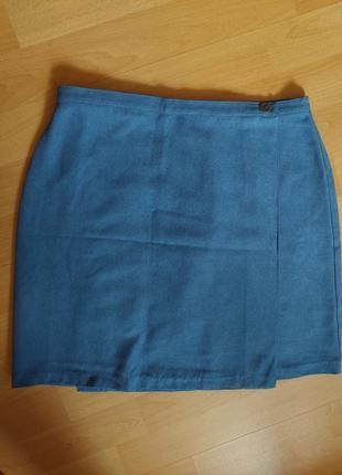 Синяя юбка на запах