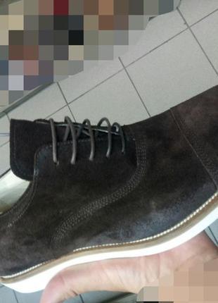 Новые мужские туфли blauer 42-432 фото