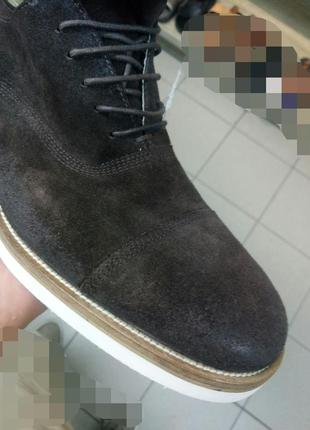 Новые мужские туфли blauer 42-433 фото