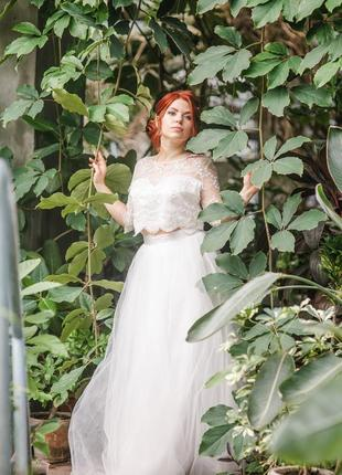 Свадебное платье (костюм) seam
